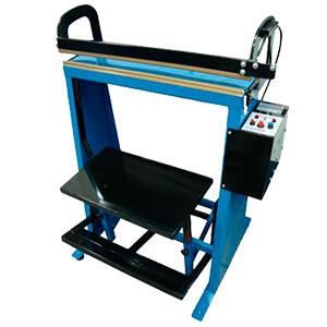 Seladora de pedal para produtos pesados